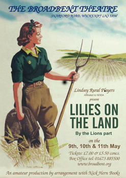 Lilies on the Land poster